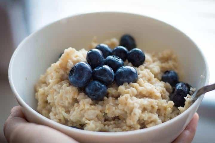 best soft food for the elderly - porridge