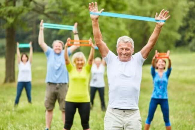 resistance bands for elderly